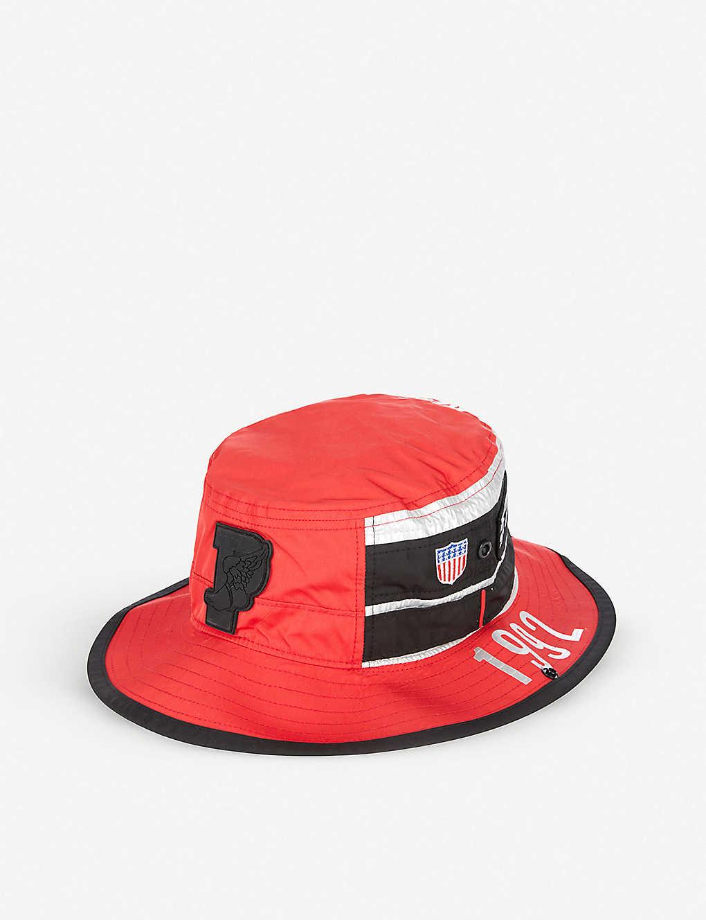 011155d27a387 POLO RALPH LAUREN - Winter Stadium 1992 Booney shell and mesh hat ...