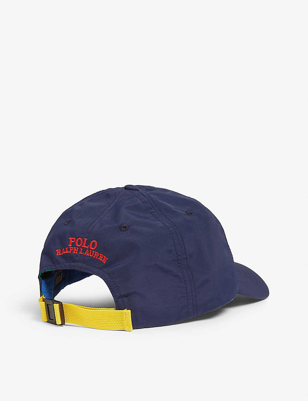 b3bc0f52ebc06 ... Logo-appliquéd woven baseball cap - Newport navy zoom
