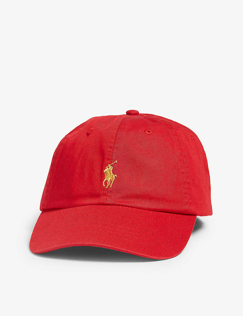 61fabd130c31b POLO RALPH LAUREN - Logo-embroidered cotton baseball cap ...