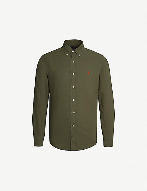 2e80101c49 Long-sleeved - Casual Shirts - Shirts - Clothing - Mens - Selfridges ...