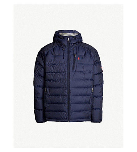 8be17a72795c POLO RALPH LAUREN - RL Heat Glacier shell-down puffer jacket ...