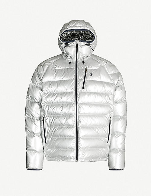 POLO RALPH LAUREN RL Heat Glacier shell-down puffer jacket fd7ab1045b