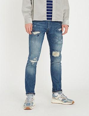 8221f77905b50 POLO RALPH LAUREN - Sullivan slim-fit tapered jeans