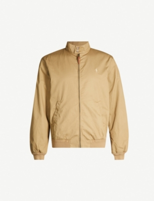 POLO RALPH LAUREN Baracuda funnel-neck cotton-twill jacket