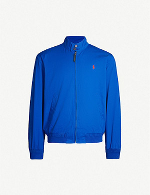 POLO RALPH LAUREN Barracuda logo-embroidered cotton jacket