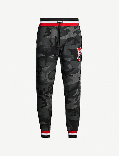 d41173e9c5ac POLO RALPH LAUREN Contrast-trim camouflage-print cotton-jersey jogging  bottoms