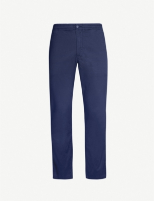 POLO RALPH LAUREN Preppy slim-fit stretch-cotton trousers