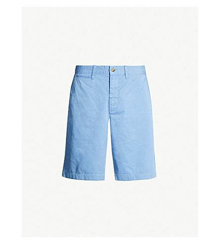 9995773f POLO RALPH LAUREN Surplus slim-fit stretch-cotton shorts (Hatteras+blue