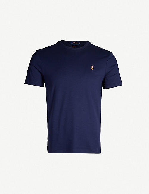 POLO RALPH LAUREN: Slim-fit cotton-jersey T-shirt