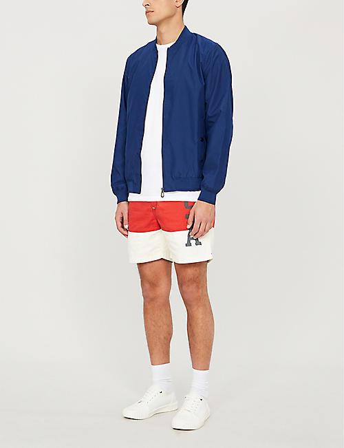 20cb593ec05 POLO RALPH LAUREN American flag regular-fit cotton hiking shorts