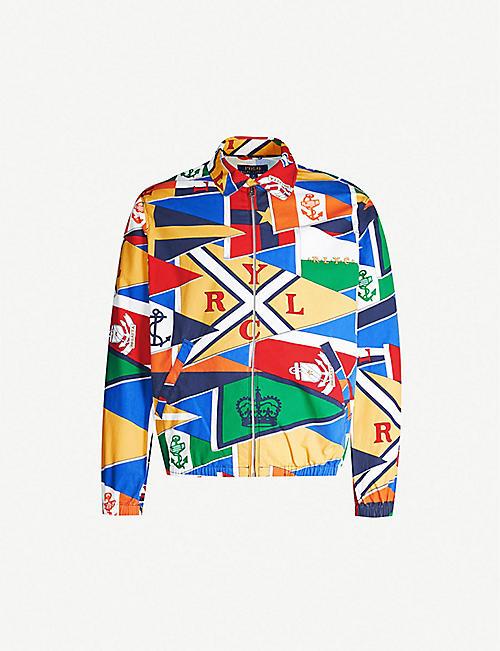 40847ba2 POLO RALPH LAUREN Bayport patchwork-print cotton jacket