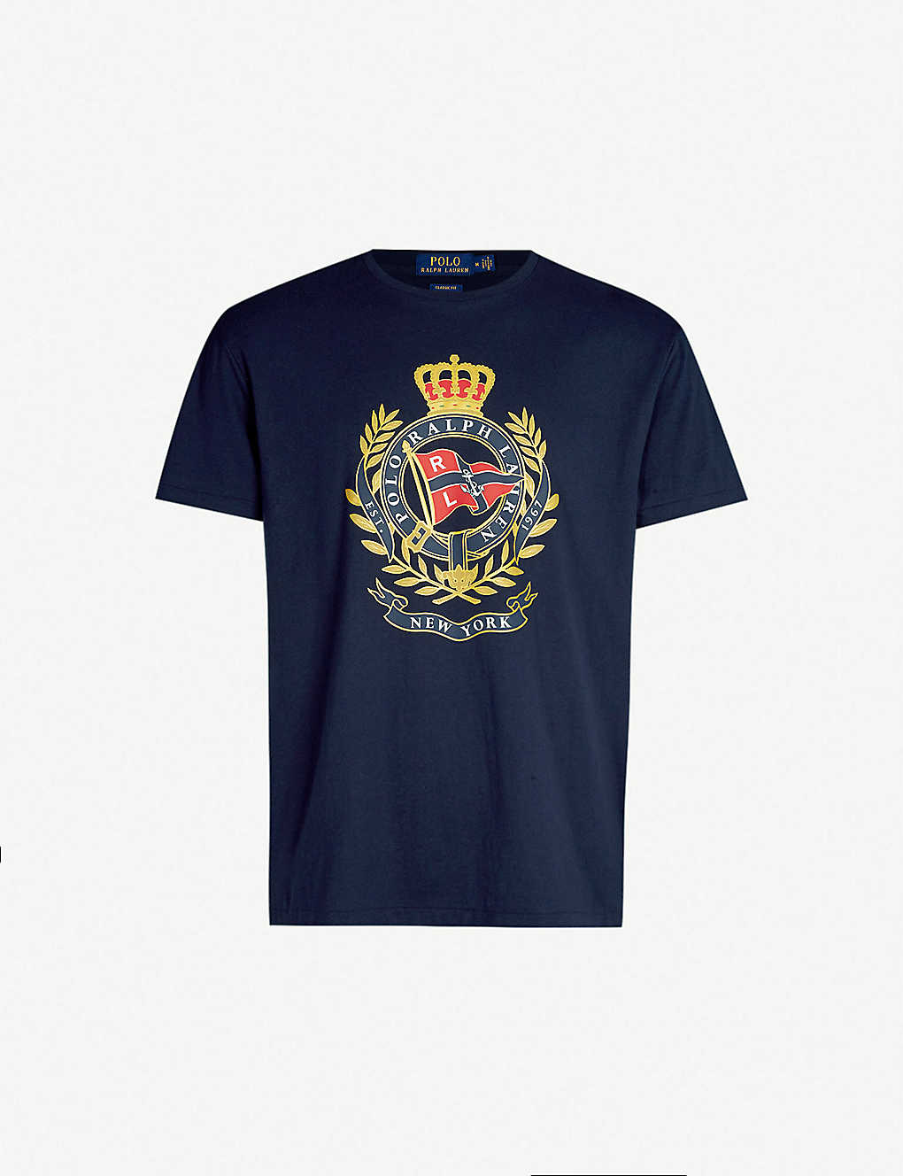 Jersey Graphic Shirt Print Cotton T sQChxrdBto