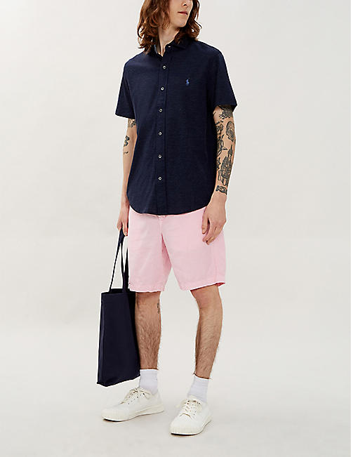 POLO RALPH LAUREN Maritime classic-fit straight stretch-cotton shorts