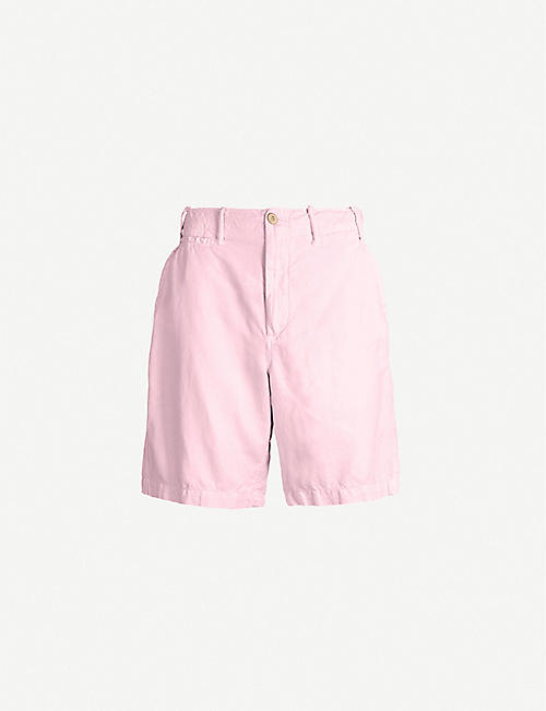 dca01ec2 POLO RALPH LAUREN Maritime classic-fit straight stretch-cotton shorts
