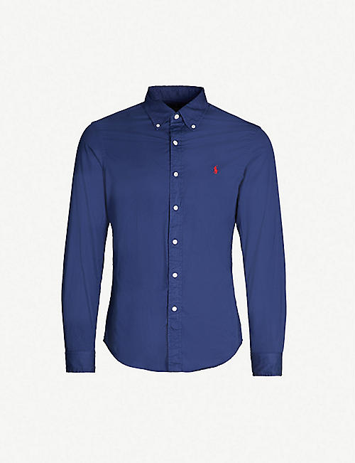 86e20552bee POLO RALPH LAUREN Slim-fit cotton shirt