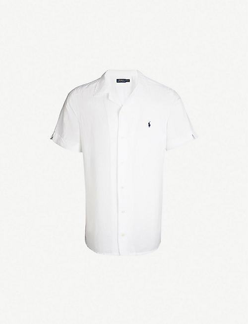 dc899fa871b5 POLO RALPH LAUREN Relaxed-fit linen-blend shirt