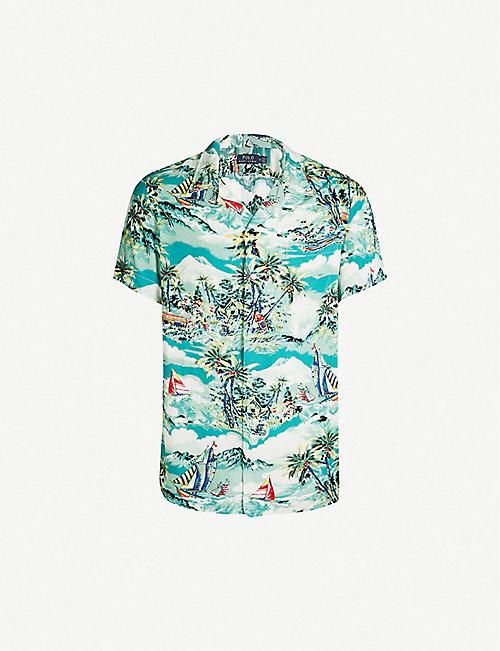 354f238f POLO RALPH LAUREN - Shirts - Clothing - Mens - Selfridges   Shop Online