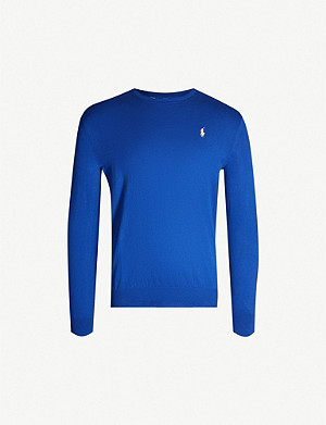 POLO RALPH LAUREN Crewneck cotton jumper