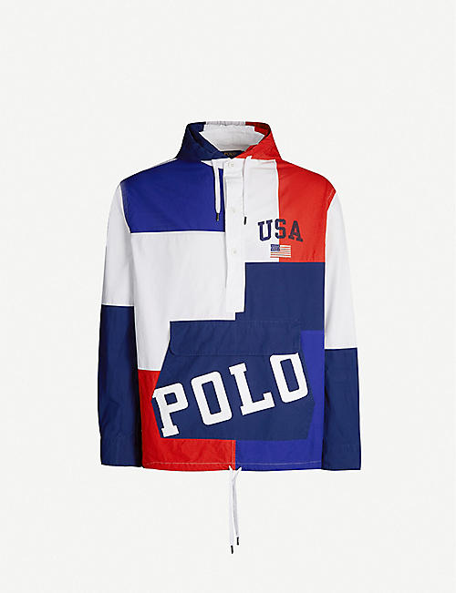 6ff182f48 POLO RALPH LAUREN Contrast-panel cotton jacket
