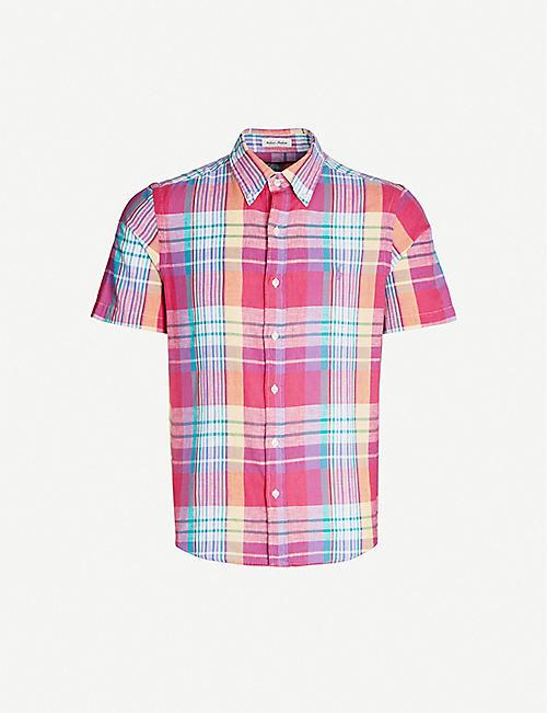 845b11d90 POLO RALPH LAUREN Checked short-sleeve cotton shirt