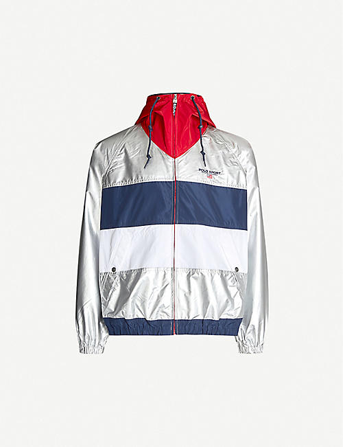 pick up f15ee 9fddc POLO RALPH LAUREN Polo Sport metallic shell jacket