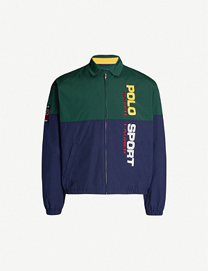 POLO RALPH LAUREN Logo-print shell jacket