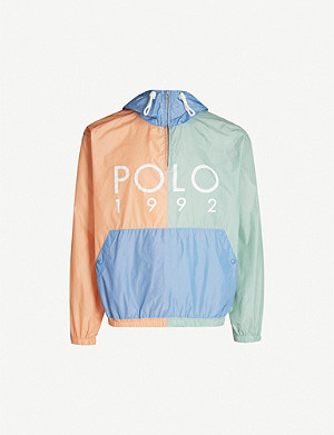 POLO RALPH LAUREN 1992-branded shell jacket