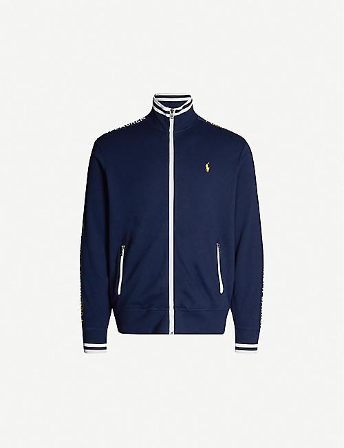 cbc27d5ba POLO RALPH LAUREN Logo-embroidery cotton-jersey sweatshirt