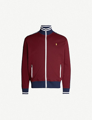 POLO RALPH LAUREN Logo-embroidery cotton-jersey sweatshirt