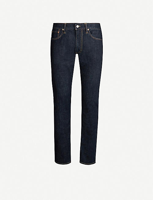 POLO RALPH LAUREN Sullivan five-pocket slim-fit stretch-denim jeans