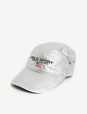 POLO RALPH LAUREN Five-panel metallic cap
