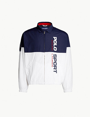 POLO RALPH LAUREN Panelled shell jacket