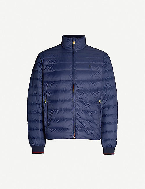 POLO RALPH LAUREN Padded shell and down-blend puffer jacket