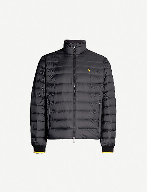 POLO RALPH LAUREN Holden logo-embroidered padded shell jacket