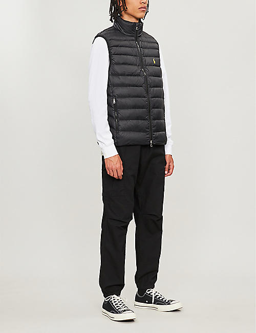 POLO RALPH LAUREN Holden logo-embroidered padded shell gilet