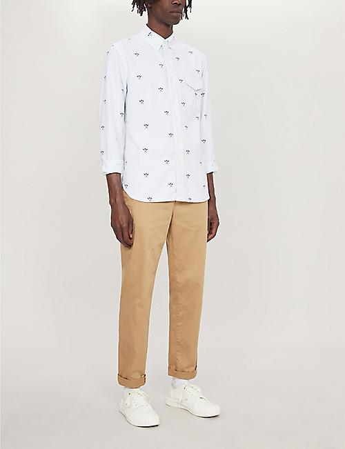 f8351dcfb POLO RALPH LAUREN Graphic-print custom-fit cotton shirt