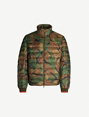 POLO RALPH LAUREN Holden camouflage padded shell jacket