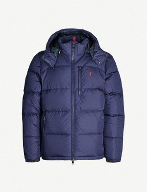 POLO RALPH LAUREN Water-repellent shell-down jacket