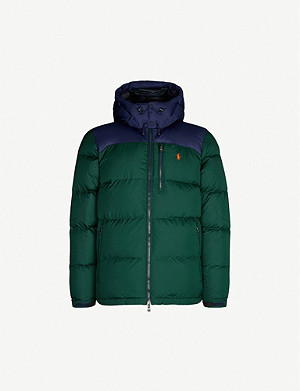 POLO RALPH LAUREN Water-repellant shell-down jacket