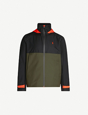 POLO RALPH LAUREN Contrast-panel shell jacket