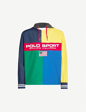 POLO RALPH LAUREN Polo Sport hooded cotton-blend jacket