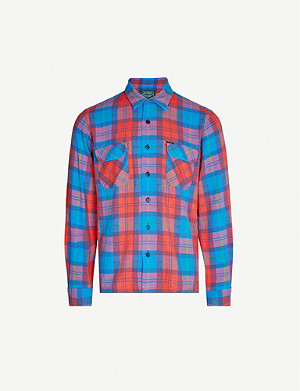 POLO RALPH LAUREN Plaid slim-fit cotton shirt
