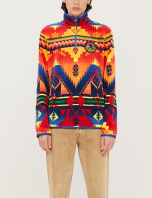 Aztec Print Fleece Sweatshirt by Polo Ralph Lauren