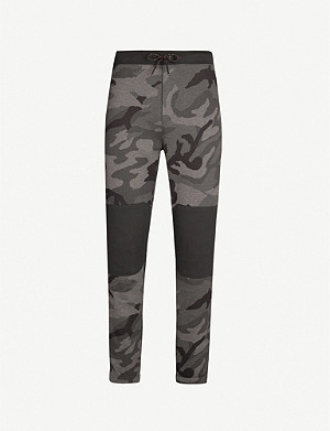 POLO RALPH LAUREN Camouflage-print tapered cotton-blend jogging bottoms
