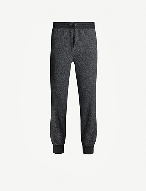 POLO RALPH LAUREN Logo-embroidered fleece jogging bottoms