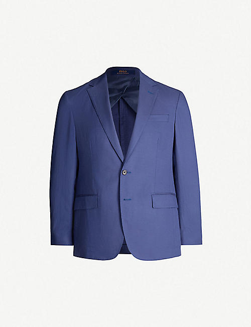 POLO RALPH LAUREN Single-breasted Morgan-fit twill blazer