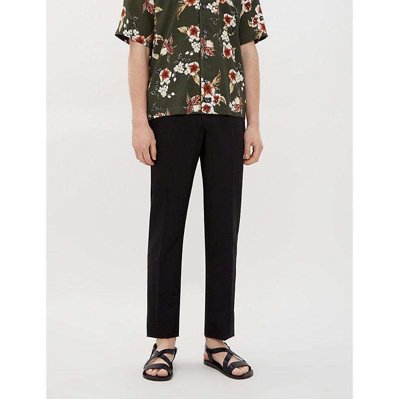 Polo Ralph Lauren Pants REGULAR-FIT TAPERED TENCEL AND LINEN-BLEND TROUSERS