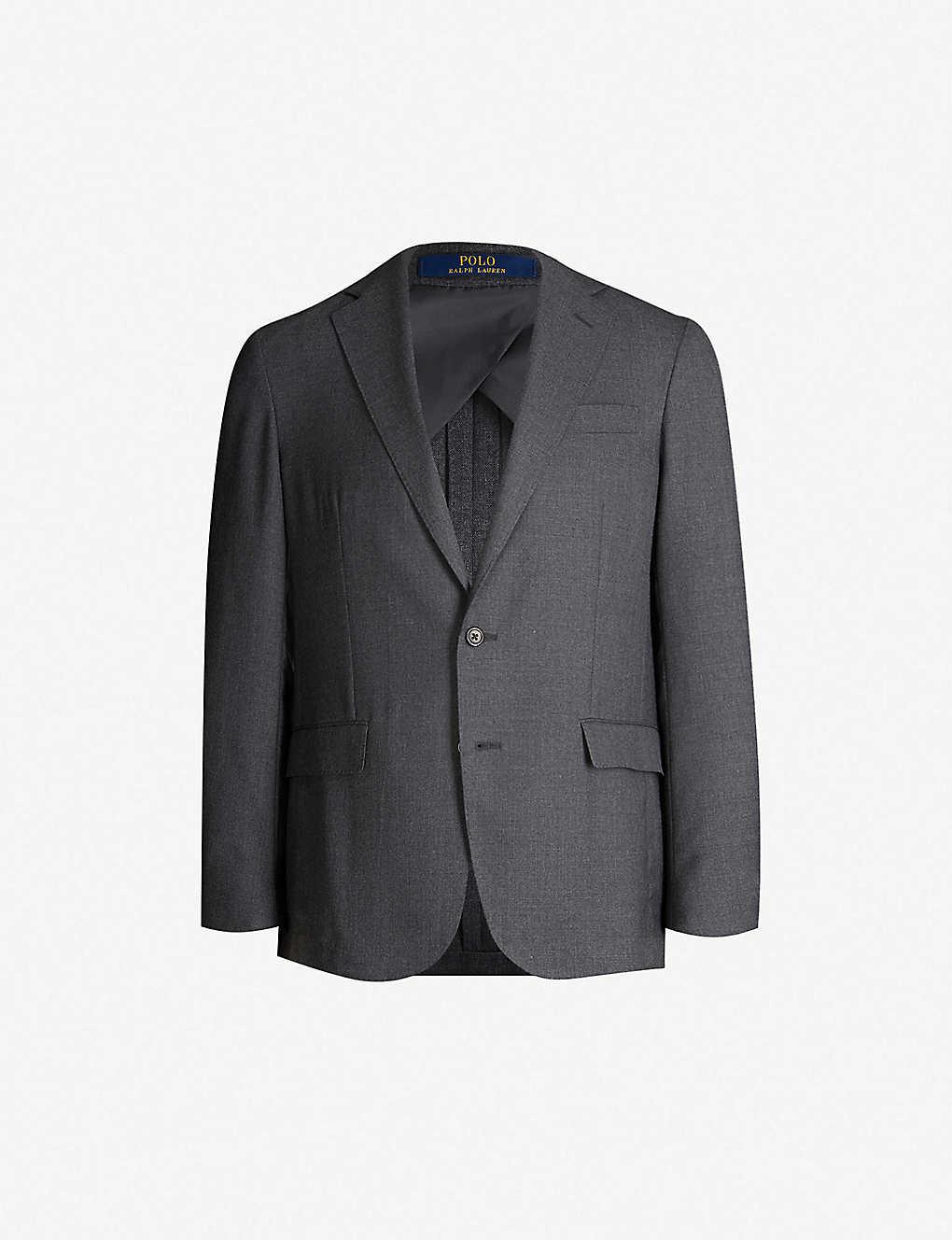 b9d97801a9be POLO RALPH LAUREN - Single-breasted regular-fit wool blazer ...