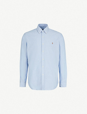POLO RALPH LAUREN Striped standard-fit single cuff shirt