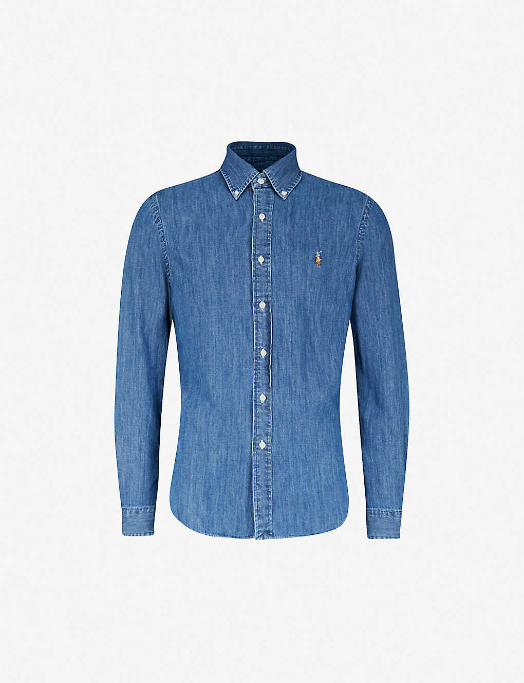40b1e983b POLO RALPH LAUREN - Slim-fit denim sport shirt | Selfridges.com